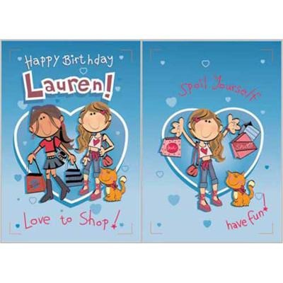 Singing Card- Lauren