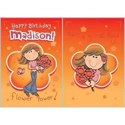 Singing Card- Madison
