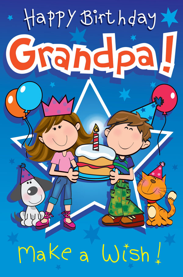 Singing Card- Happy Birthday Grandpa