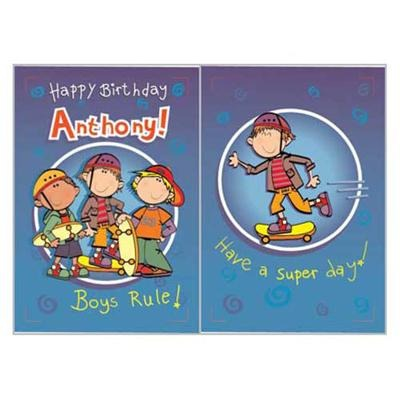 Singing Card- Anthony