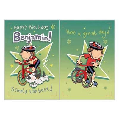 Singing Card- Benjamin