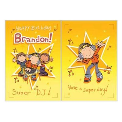 Singing Card- Brandon