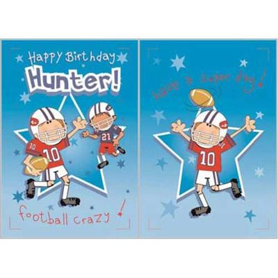 Singing Card- Hunter