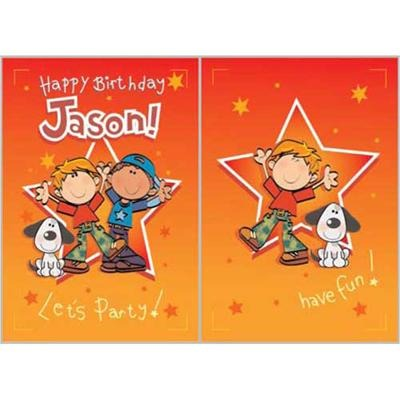 Singing Card- Jason