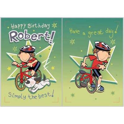 Singing Card- Robert