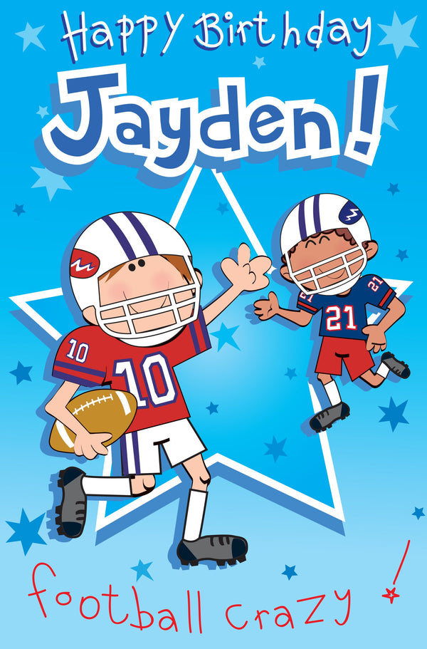 Singing Card- Jayden