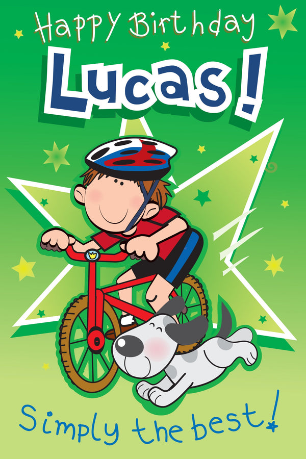 Singing Card- Lucas