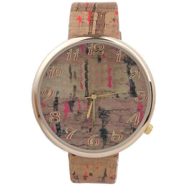 Corked Watch,Watches,Mad Style, by Mad Style