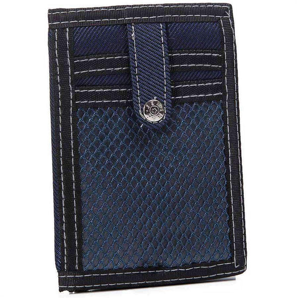 Men's Nylon Ripstop Wallet,Wallets and Clips,Mad Man, by Mad Style