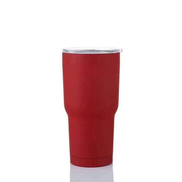 Stainless Matte Travel Tumbler,Drinkware,Mad Man, by Mad Style