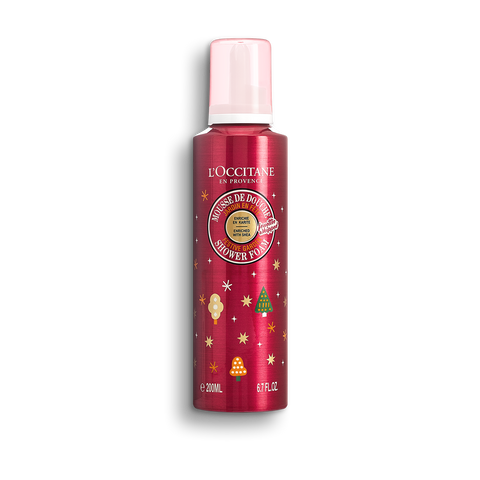 L'Occitane Shea Festive Garden Shower Foam