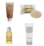 Amande L'Occitane travel set