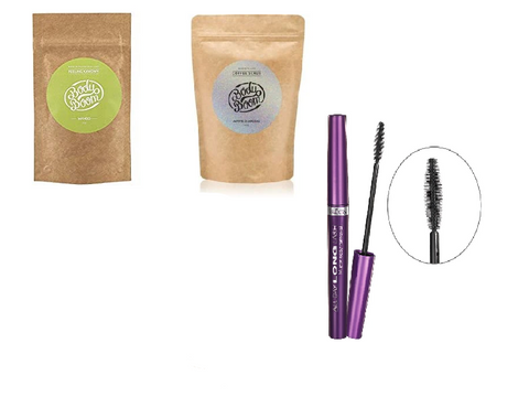 Body Boom Coffee Scrub Duo Set with free gift