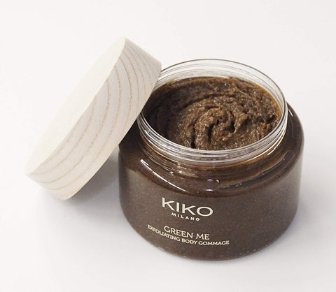 KIKO MILANO - Green Me Ghassoul Gommage Natural exfoliating body scrub with Moroccan Lava Clay.