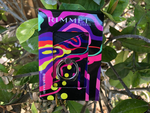 Rimmel Card wallet with Ring Grip