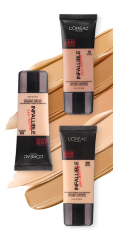 L'Oréal Paris Infaillible Pro-Matte Liquid Longwear Foundation