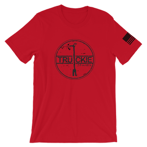 Truckie Red Firefighter Shirt