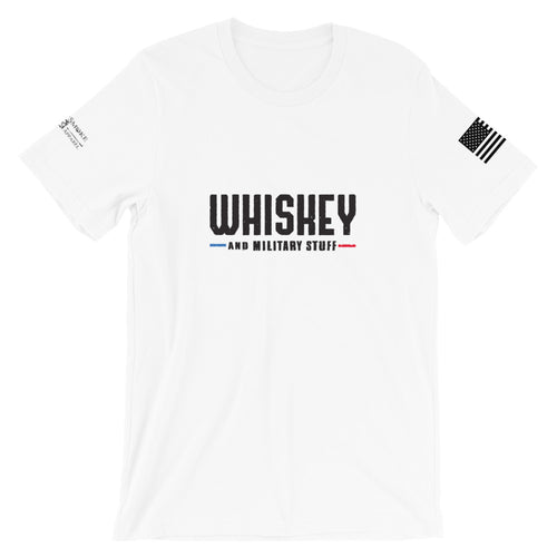 Whiskey and Military Stuff shirt (4 Colors !) - Heavy Smoke Apparel Firefighter Police shirt