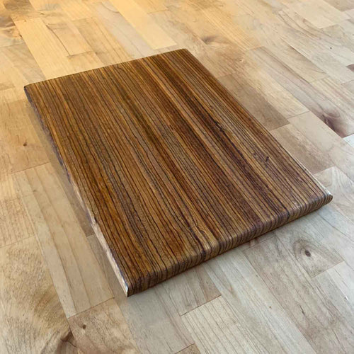 Solid Wood Collection - Zebrawood