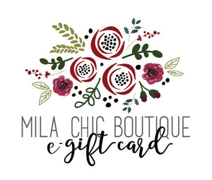 Mila Chic Boutique Gift Card