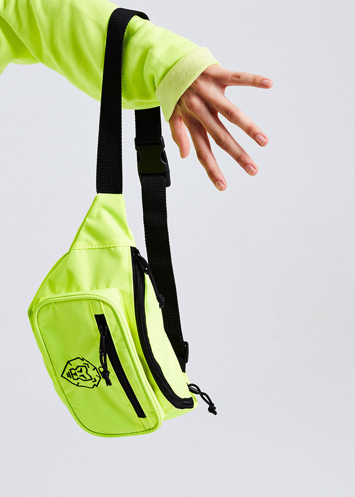 NEON YELLOW BODYBAG