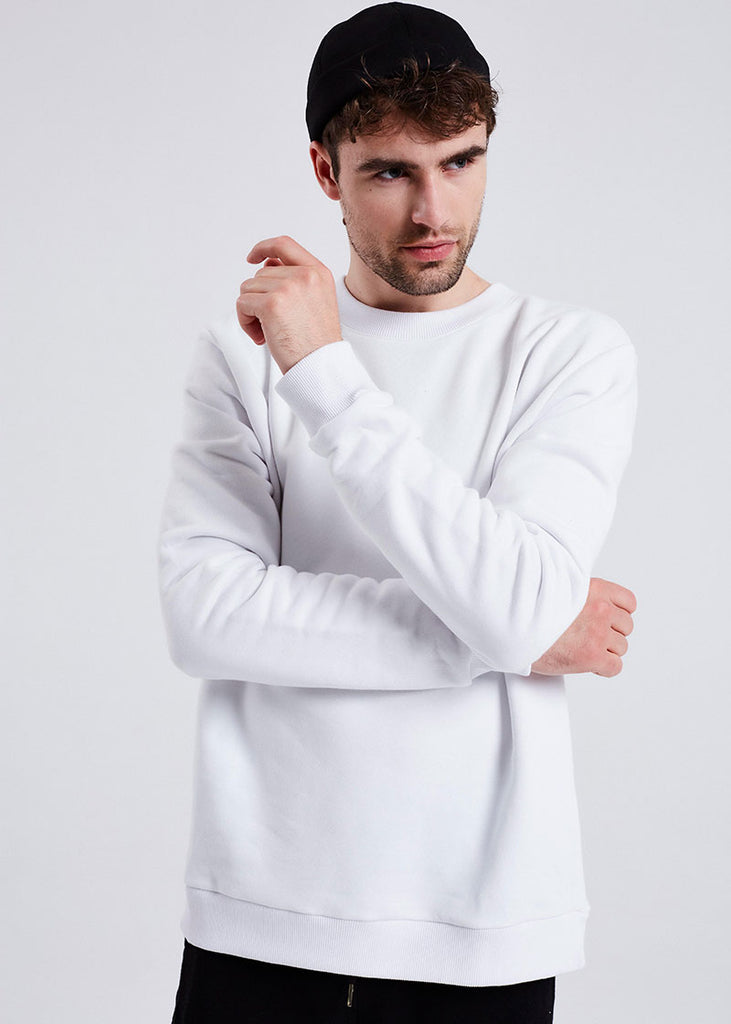 MEN WHITE WE ARE LUIS SWEATER