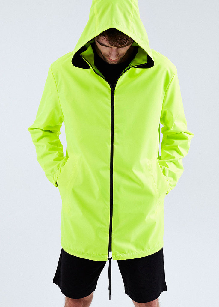 MEN RAINCOAT NEON YELLOW