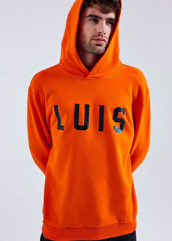 MEN ORANGE LUIS HOODIE
