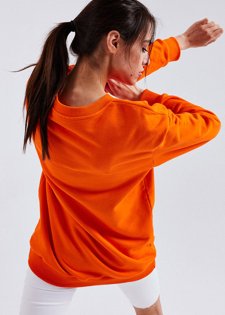 WOMEN ORANGE LUIS SWEATER