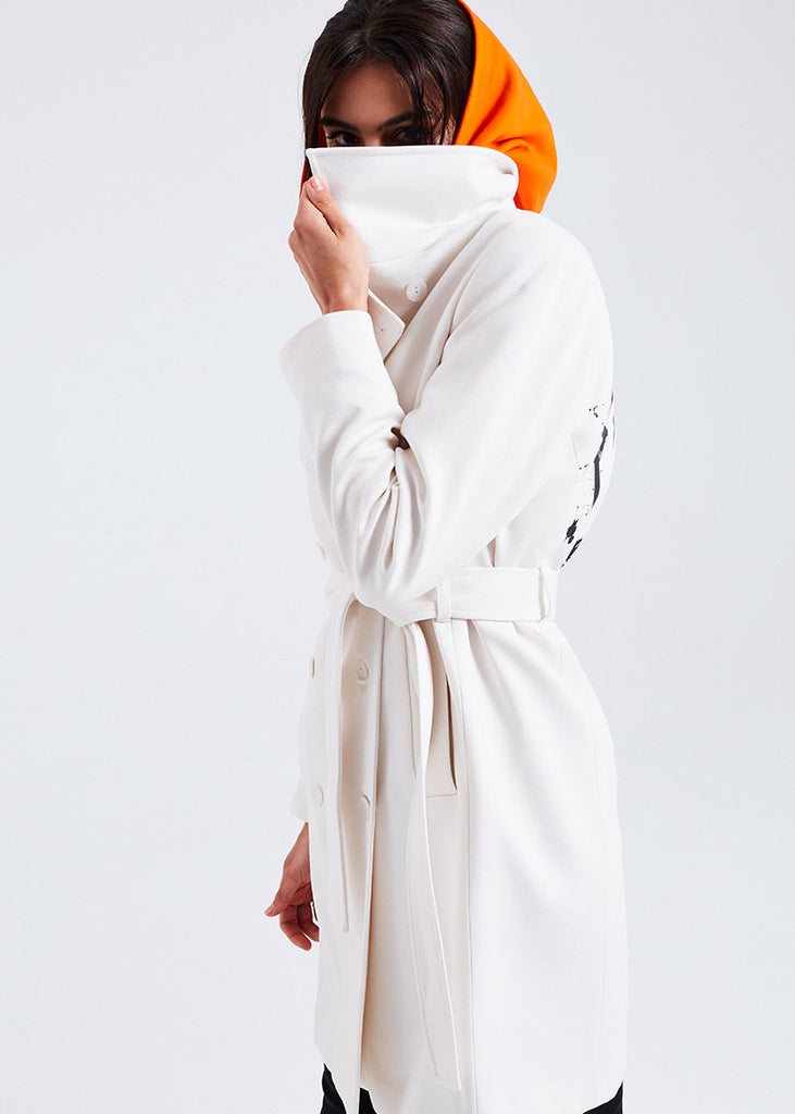 WOMEN COAT WHITE