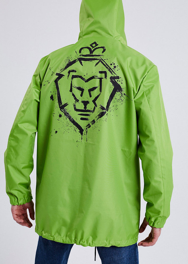 MEN RAINCOAT GREEN