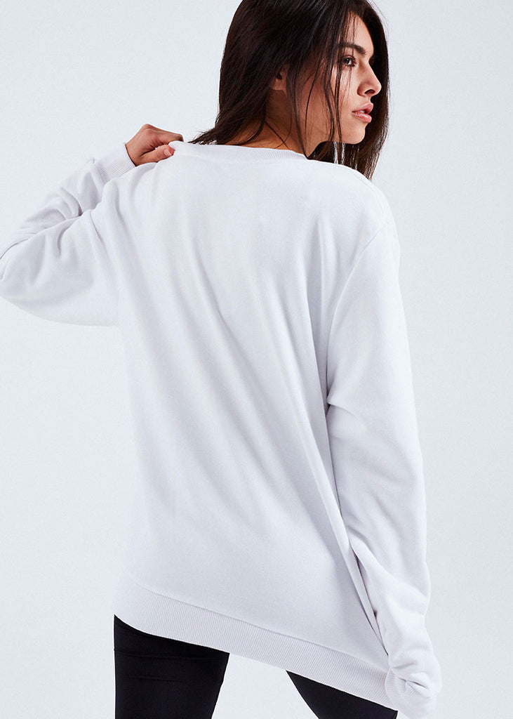 WOMEN WHITE LUIS SWEATER