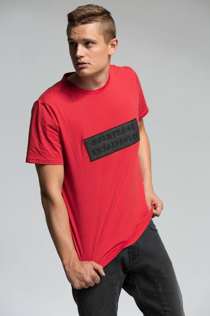 MEN GOLDJUNGE TEE