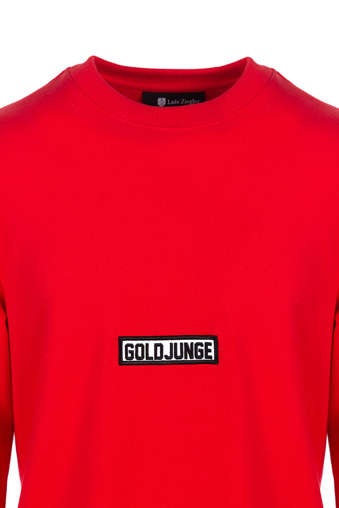 MEN SWEATSHIRT GOLDJUNGE
