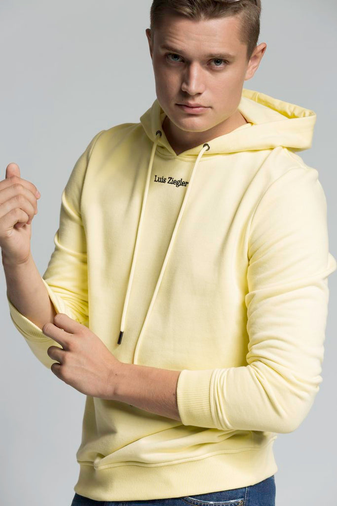MEN SWEET YELLOW LZ HOODIE