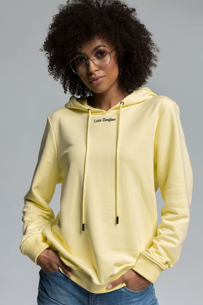 WOMAN SWEET YELLOW LZ HOODIE