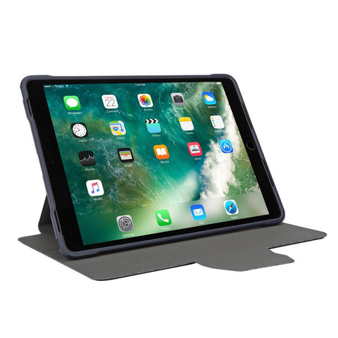 Navy Blue Pro-Tek™ Case for 10.5-inch iPad Pro® (THZ67302GL) - In Use Landscape Viewing hidden