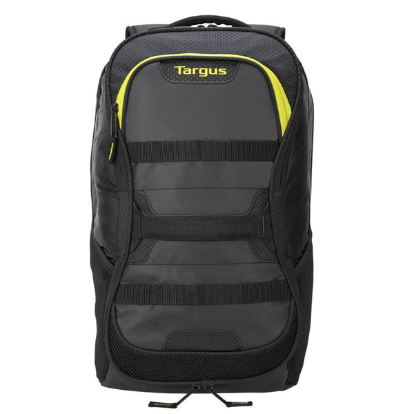"15.6"" Targus Work + Play™️ Fitness Backpack (Black/Yellow)"