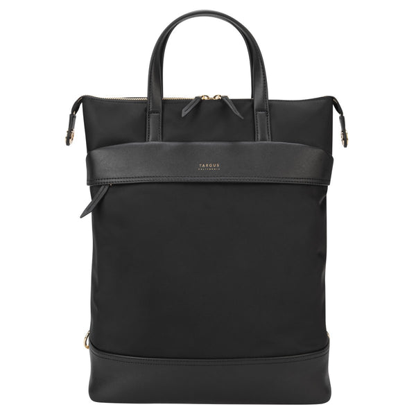 "15"" Newport Convertible 2-in-1 Tote/Backpack (Black)"