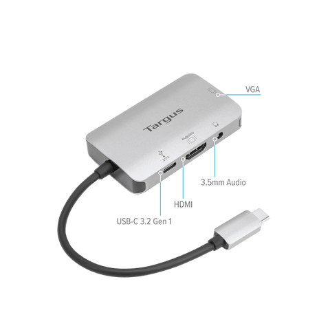 USB-C Single Video Adapter with 100W PD Pass-Thru hidden