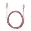iStore Lightning Charge 4ft (1.2m) Braided Cable (Rose Gold)