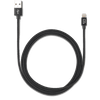 iStore Lightning Charge 4ft (1.2m) Braided Cable (Black)