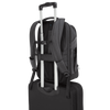 "15.6"" Mobile ViP+ Backpack with Wireless Phone Charger (TSB970GL) - Luggage Strap In Use"