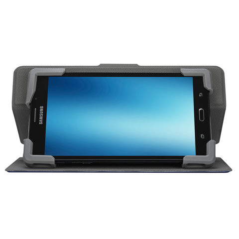 "SafeFit™ Rotating Universal Tablet Case 7 - 8.5"" - Blue hidden"