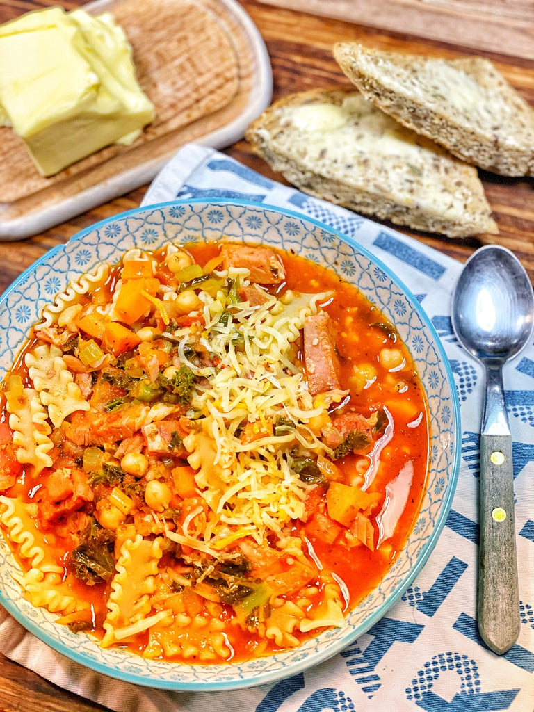 Minestrone Transition Soup