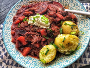 The General's Beef & Beetroot Stew