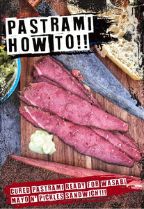 Curing Pastrami - A how to guide using our products