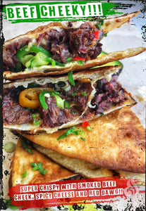 Beef Cheek Quesadillas