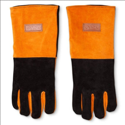 Yoder Leather BBQ Gloves
