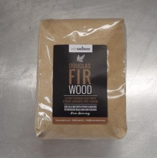 Douglas Fir Wood Dust by Hot Smoked